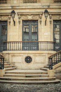 hotel deur art nouveau